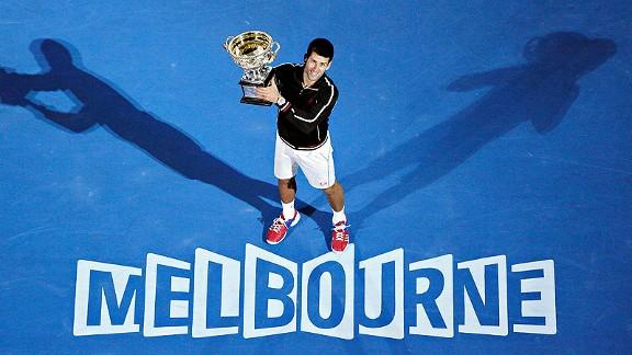 Image of the 2016 Australia Open Winner