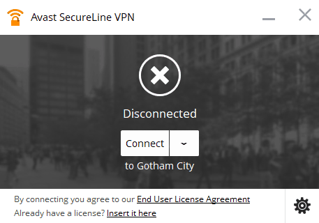Avast SecureLine VPN Client