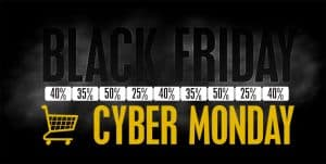 Example of Black Friday and Cyber Monday deals