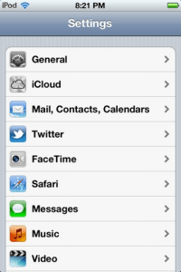 The iOS setup page for BolehVPN's smartphone app