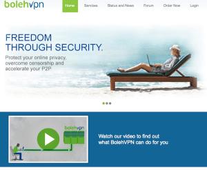 BolehVPN.net website