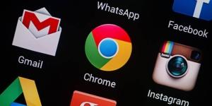 Google Chrome app on mobile