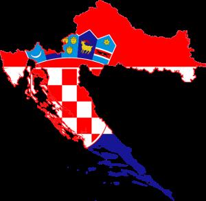 Croatian map