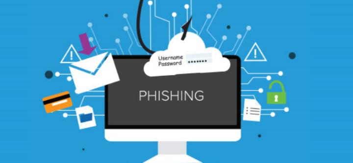 Data phishing screen