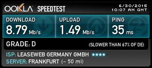 easy-hide-ip-speedtest-frankfurt
