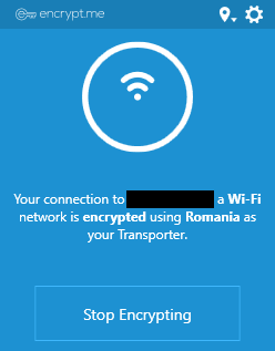 Encrypt.me Windows side app