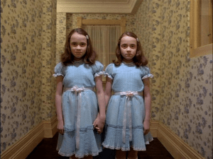 The evil twin ghost girls from Shining