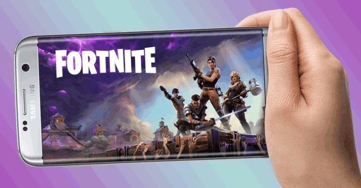 Fortnite game unofficially on Android