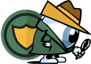 FrootVPN mascot eyeing good privacy