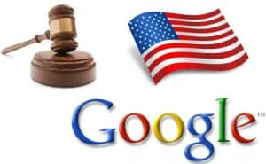 Example of an image illustrating the USA vs Google Case