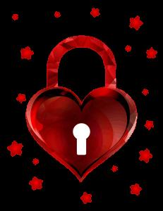 Heart Lock Valentine