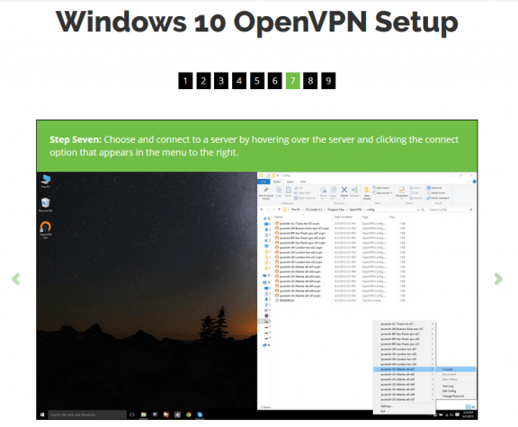 Windows 10 OpenVPN setup with IPVanish