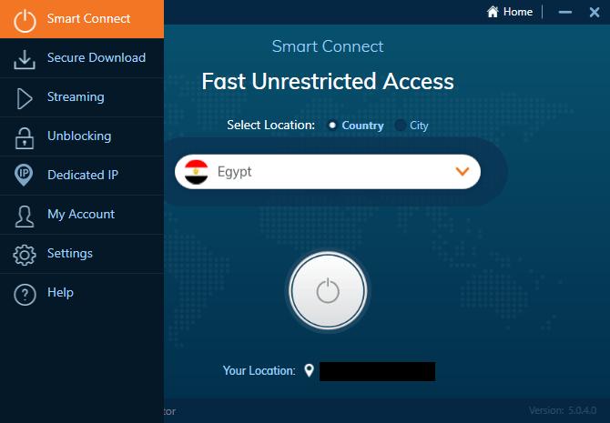 Ivacy desktop client