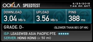 myvpn-speedtest-hongkong