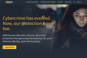 Norton Secure VPN website
