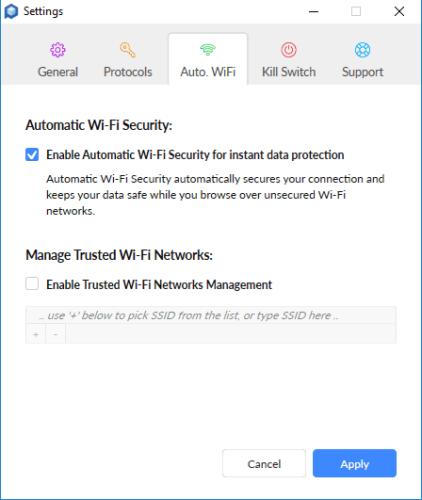 Perimeter 81 Wi-Fi Settings