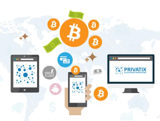 Privatix Review - PRIX ICO P2P Blockchain VPN Network To ...