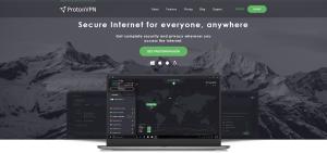 ProtonVPN Website
