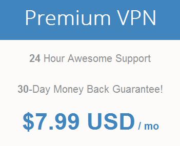 Pricing of Premium VPN