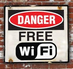 Danger, public Wi-Fi