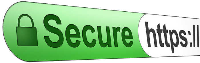 Secured https session while shopping