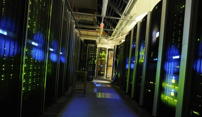Example of a server room