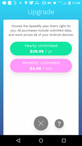 Speddify's Mobile Plans