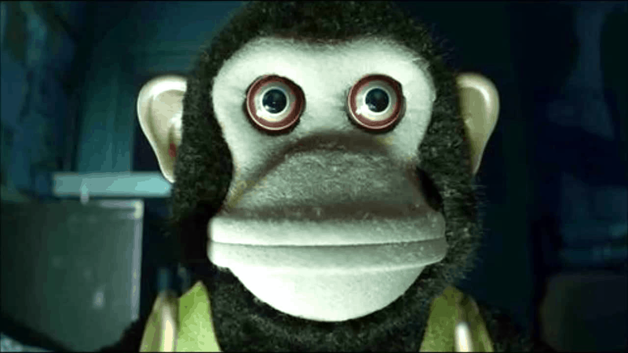 Spying monkey