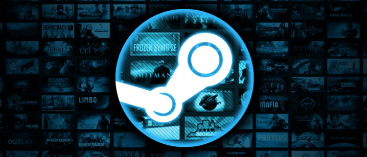Steam game library