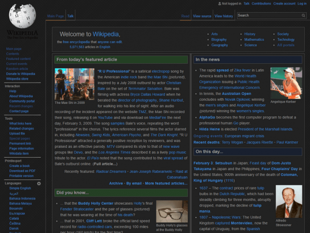 A Stylish User's Custom Theme for Wikipedia