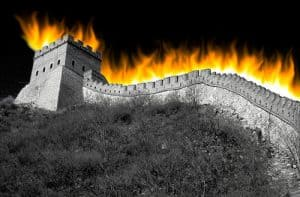 example of the great firewall of China