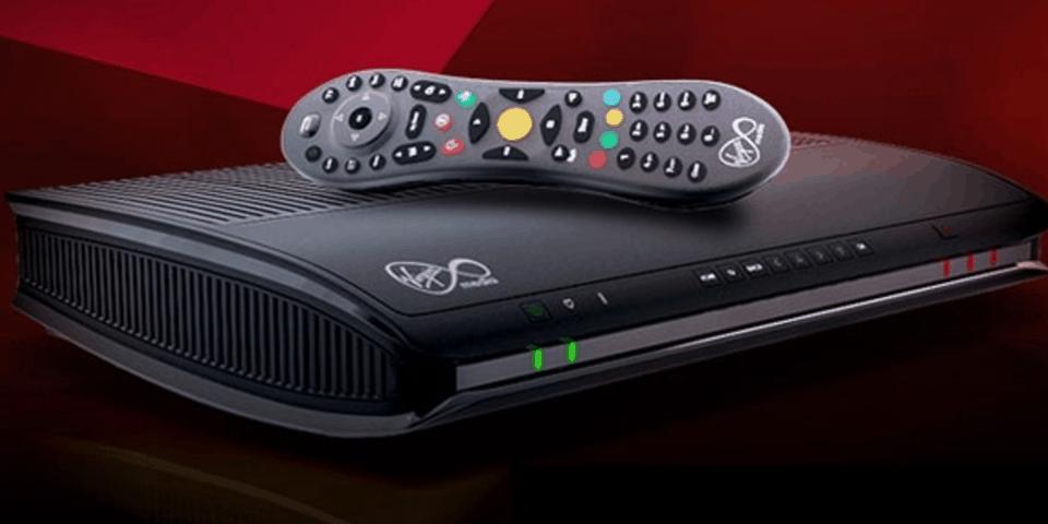 Virgin Media box