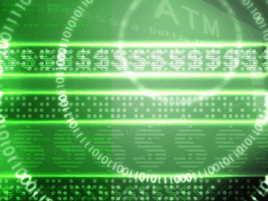 A green screen with digital currencies