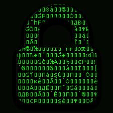 Data encrypted through a VPN connection