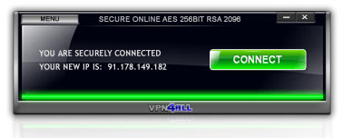 Secure connection using VPN4ALL