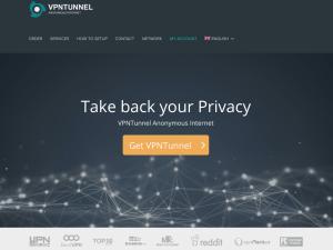 VPNTunnel website